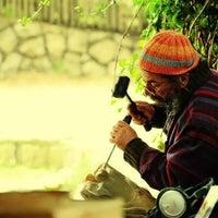 Photo taken at Hostal Isla Negra by Maximiliano A. on 7/2/2012