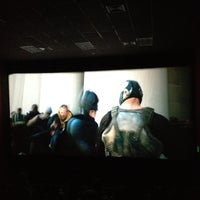 Photo taken at Super Cines - Puente Real by Valentina P. on 8/1/2012