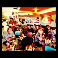 Photo taken at Diner Deluxe by Chelsea S. on 8/18/2012
