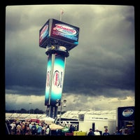 Photo taken at Richmond International Raceway by Chad W. on 9/8/2012