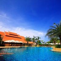 Photo taken at Thai Garden Resort by Thai Garden Resort on 3/14/2012