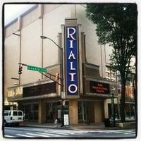 Photo taken at Rialto Center for the Arts by Terésa D. on 4/27/2012