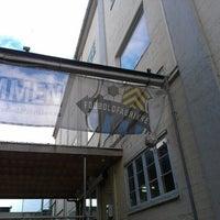 Photo taken at Fodboldfabrikken by Nick C. on 7/16/2012