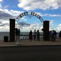 Photo taken at Lakeview Beach by Conrad & Jenn R. on 8/11/2012