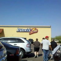 Photo taken at Brunswick Zone Glendale Lanes by Christopher G. on 4/6/2012
