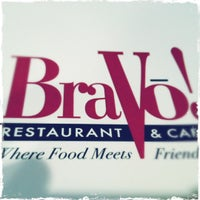 Photo taken at BraVo! Restaurant & Cafe by Erick M. on 6/1/2012