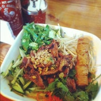 Photo taken at Pho Doan (Vietnamese Noodle & Grill) by Rachel C. on 8/31/2012