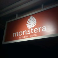 Photo taken at Monstera Sushi & Noodles by Cory W. on 6/3/2012