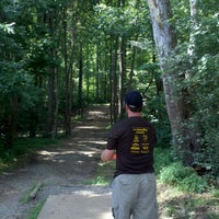Photo taken at Hornets Nest Disc Golf Course by AJ. R. on 7/16/2012