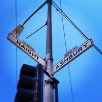 Photo taken at Haight-Ashbury by Casey A. on 7/23/2012
