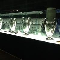Photo taken at Museu Futbol Club Barcelona by Tomasz on 7/21/2012