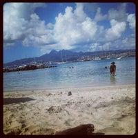 Photo taken at Bakoua Beach Club by Soulja Beez T. on 5/13/2012