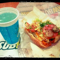 Photo taken at Subway by Victor Hugo M. on 6/12/2012
