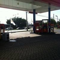 Photo taken at Shell by Claudia M. on 4/4/2012