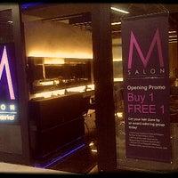 "Photo taken at ""M"" salon by kimarie group, kenananga wholesale city by Roy T. on 3/6/2012"