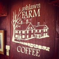 Photo taken at Ashlawn Farm Coffee by Jon A. on 5/7/2012