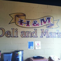 Photo taken at H&M Deli & Market by Dee Dee R. on 4/30/2012