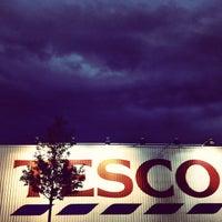 Photo taken at Tesco by Kuba P. on 8/24/2012