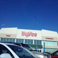 Photo taken at Hy-Vee by David M. on 7/17/2012