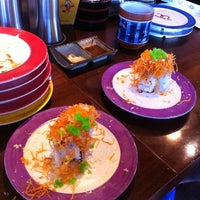 Photo taken at Sushi Me by Jenny S. on 7/22/2012