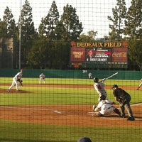 Photo taken at Dedeaux Field by Lindsey M. on 5/19/2012