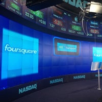 Photo taken at Nasdaq Marketsite by Matt S. on 5/21/2012