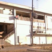 Photo taken at Suma Station by 虎太郎 &. on 2/26/2012