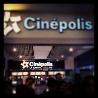 Photo taken at Cinépolis by Fernando G. on 7/27/2012