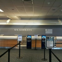 Photo taken at US Airways Check In by Melissa D. on 6/8/2012