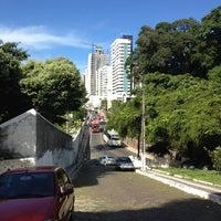 Photo taken at Ladeira da Barra by Laércio L. on 3/21/2012