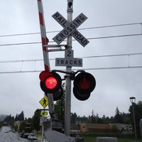 Photo taken at TriMet NW Civic Drive MAX Station by Paul A. on 5/24/2012