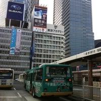 Photo taken at Shinjuku Sta. West Exit Bus Terminal by ELNINO エ. on 4/24/2012