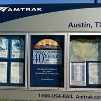 Photo taken at Austin Train Station - Amtrak (AUS) by Pao on 7/31/2012