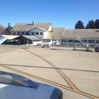 Photo taken at Aeropuerto Internacional de Bariloche - Teniente Luis Candelaria (BRC) by Sir Chandler on 6/7/2012