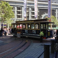 Photo taken at Powell Street Cable Car Turnaround by Felicia O. on 6/8/2012