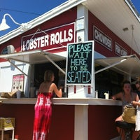 Photo taken at The Clam Bar by Claudia P. on 7/8/2012