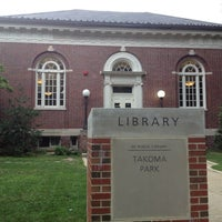 Photo taken at DC Public Library - Takoma Park by IsItModern? on 7/31/2012