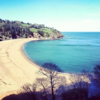 Photo taken at Blackpool Sands by Juliette E. on 5/11/2012