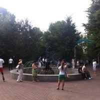 Photo taken at Розарий с Фонтаном by Сергей on 8/5/2012