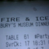 Photo taken at Fire & Ice by Andrea S. on 4/12/2012