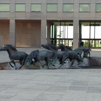 Photo taken at The Mustangs of Las Colinas by David H. on 3/26/2012