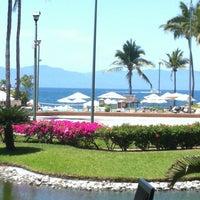 Photo taken at CasaMagna Marriott Puerto Vallarta Resort & Spa by Paty Q. on 4/23/2012