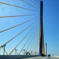 Photo taken at Sunshine Skyway Bridge by Tracy A. on 6/7/2012