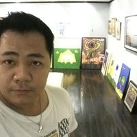 Photo taken at Omm Gallery by Siriphong P. (. on 6/27/2012