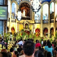 Photo taken at National Shrine of Our Lady of Lourdes by Regie on 4/1/2012