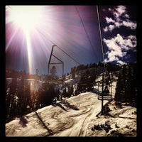 Photo taken at Alpine Meadows Ski Resort by Lauren R. on 2/17/2012