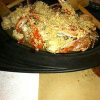 Photo taken at Lestardo's Crab House by Latifa B. on 4/1/2012