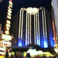 Photo taken at Las Vegas Club Hotel & Casino by Monica K. on 3/16/2012