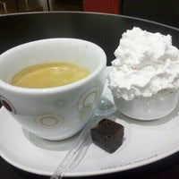 Photo taken at Café Do Ponto by Cintia F. on 7/23/2012
