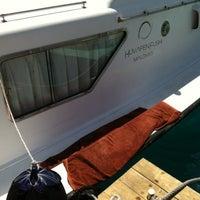 Photo taken at Huvafenfushi Staff Ferry by Shafy R. on 7/27/2012